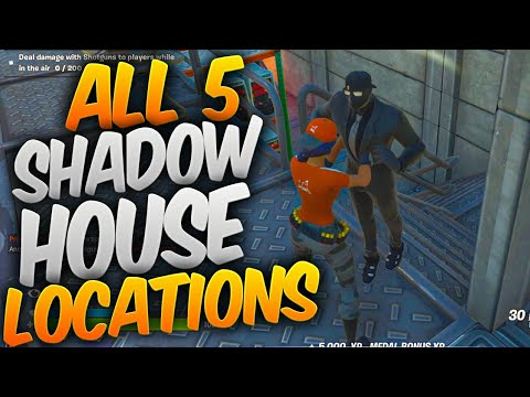 Find Shadow Safe Houses All 5 Shadow Safe House Locations In Fortnite Wp 022