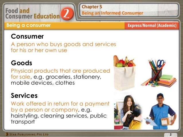 an informed consumer is someone who does what-0