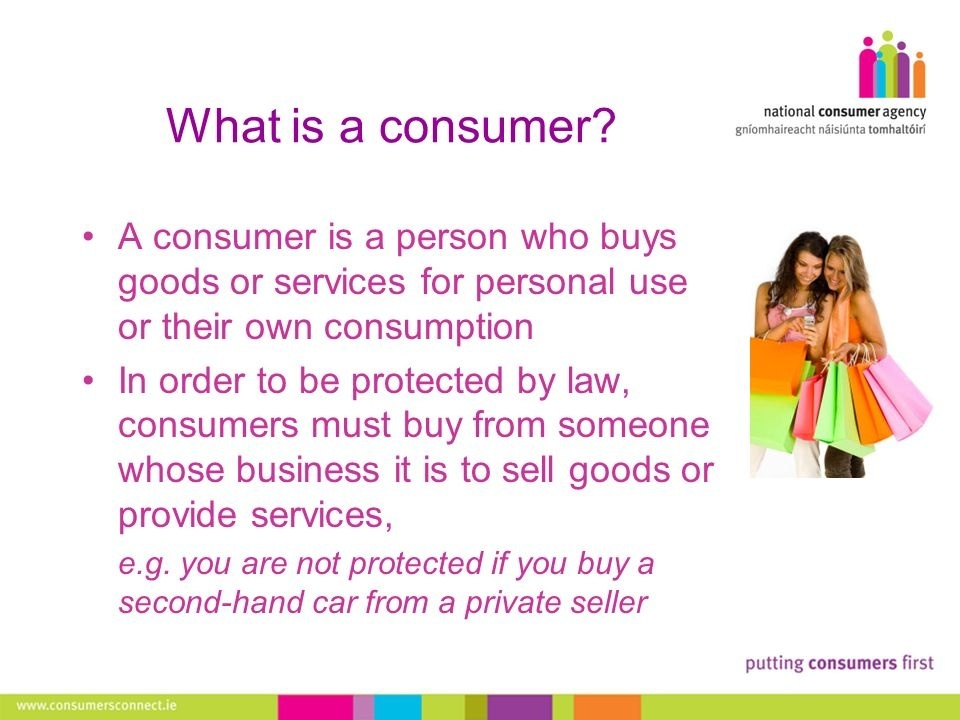 an informed consumer is someone who does what-2
