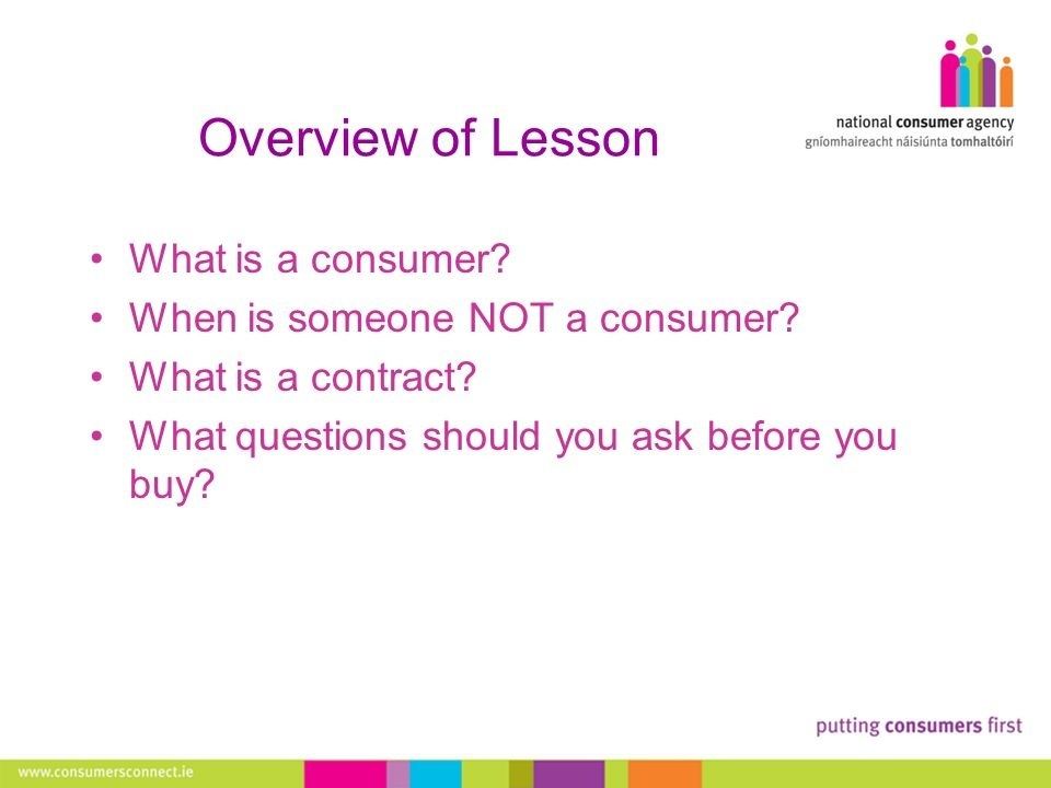 an informed consumer is someone who does what-3