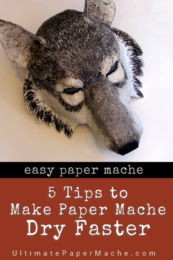 how long does paper mache take to dry-0