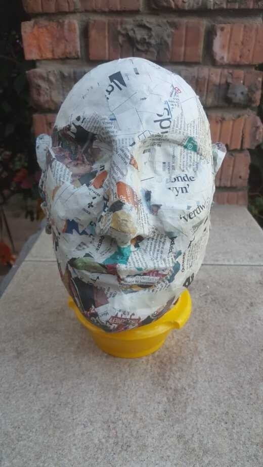 how long does paper mache take to dry-1