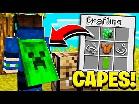 how to get a cape in minecraft pe-2