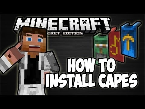 how to get a cape in minecraft pe-3