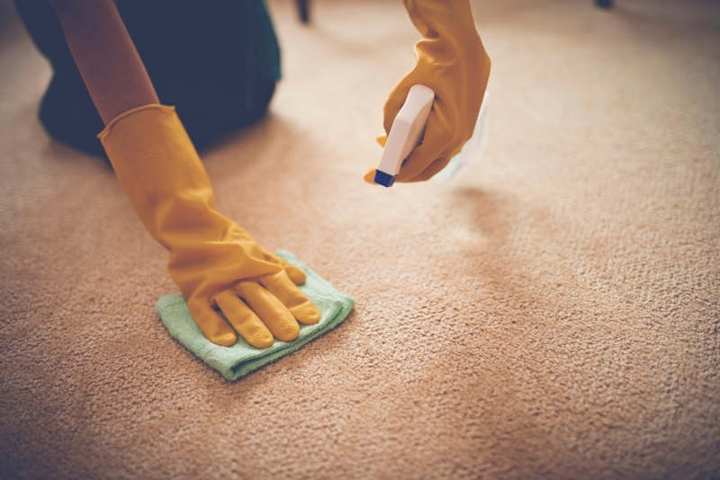 how to get baking soda out of carpet-2