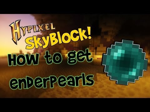how to get ender pearls in hypixel skyblock-1