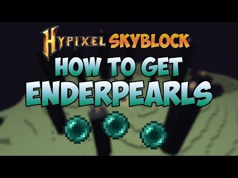 how to get ender pearls in hypixel skyblock-3