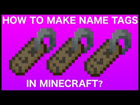 how to get name tags in minecraft-2
