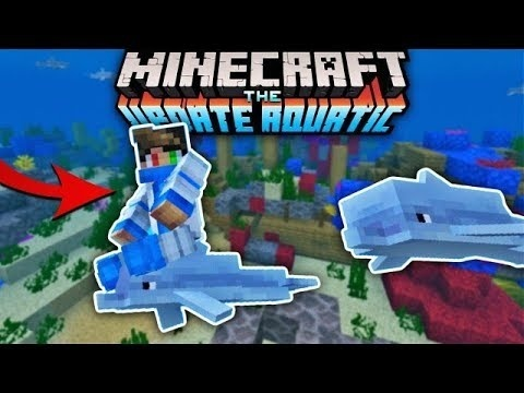 how to ride a dolphin in minecraft-2