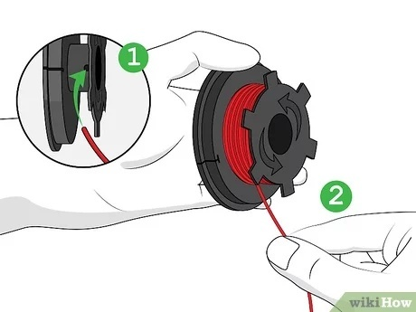 how to string a weed eater with two holes-1
