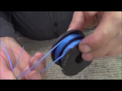 how to string a weed eater with two holes-3
