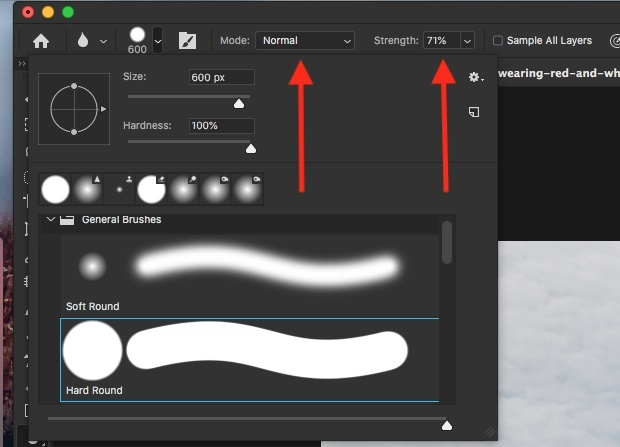 how to use blur tool in photoshop-1