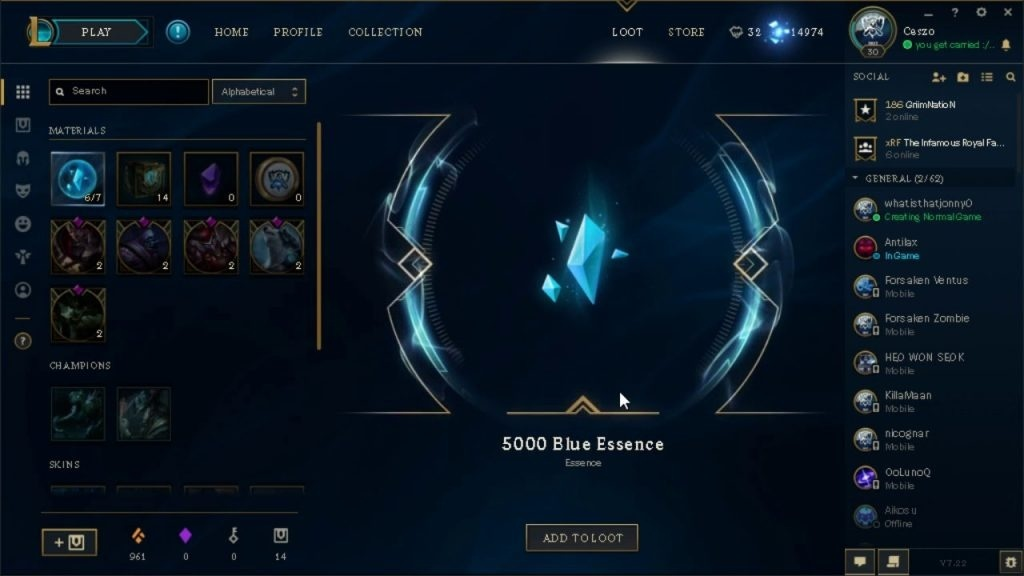 league of legends how to get blue essence-0