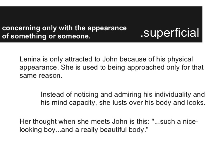 who is john why is he attracted to lenina-4