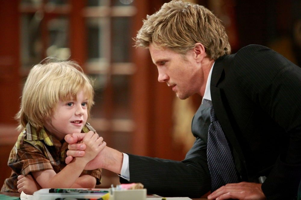who is reeds father on young and the restless-1