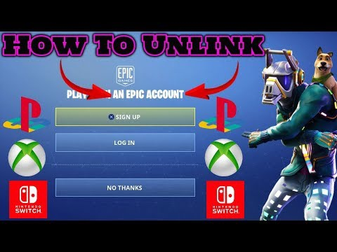 how to unlink xbox account from fortnite-7